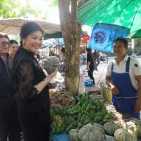 สักการะ พระบรมราชานุสรณ์ดอนเจดีย์ฯ – Yingluck Shinawatra