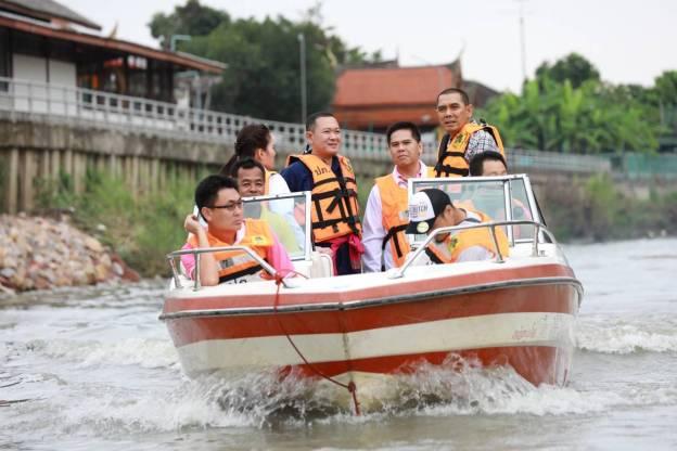 การบริหารจัดการน้ำเพื่อป้องกันและบรรเทาอุทกภัยเมืองเพชรบุรี : พรรคชาติไทยพัฒนา Chartthaipattana Party